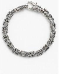 Konstantino | 'classics' Carved Bracelet | Lyst