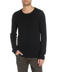 John Varvatos - Thermal Sweater - Lyst