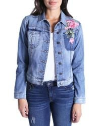 Kut From The Kloth - Juko Denim Jacket - Lyst