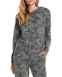 Michael Stars - Brushed Camo Hoodie - Lyst