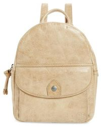 Frye - Melissa Mini Leather Backpack - - Lyst
