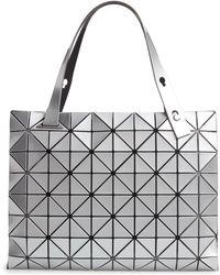 Bao Bao Issey Miyake - Carton Prism Tote Bag - Metallic - Lyst