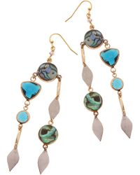 Nakamol - Stone Drop Earrings - Lyst
