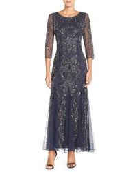 Pisarro Nights - Embellished Mesh Gown - Lyst