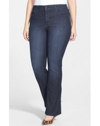 NYDJ - 'billie' High Rise Bootcut Jeans - Lyst