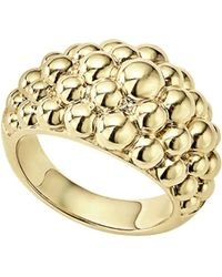 Lagos - Caviar Gold Bold Dome Ring - Lyst