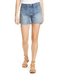 Polo Ralph Lauren Denim Boyfriend Shorts