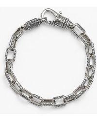 Konstantino - 'classics' Etched Link Bracelet - Lyst
