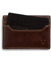 Frye | 'logan' Leather Card Holder | Lyst