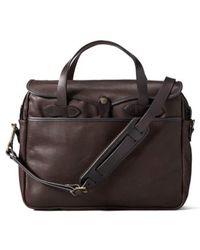 Filson - Weatherproof Leather Briefcase - Lyst