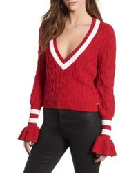 The Fifth Label - Graduate Bell Sleeve Sweater - Lyst