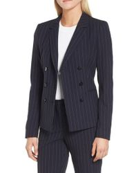 BOSS - Jelaya Double Breasted Suit Jacket - Lyst