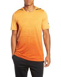 556bdd5a4bde Lyst - Nike  hypercool  Dri-fit Max Jersey Training T-shirt in Black ...