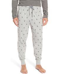 Polo Ralph Lauren - Pony Print Pajama Pants - Lyst