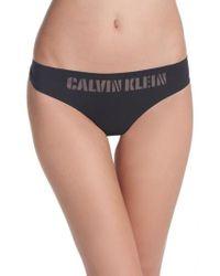 CALVIN KLEIN 205W39NYC - Laser Thong - Lyst