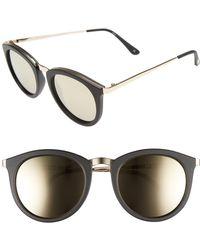75a405a28d Le Specs - No Smirking Limited 50mm Sunglasses - Lyst