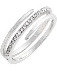 Judith Jack - Crystal Wrap Ring - Lyst