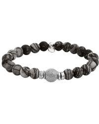 Tateossian - Stonehenge Bead Bracelet - Lyst