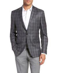 Ted Baker - Jay Trim Fit Windowpane Wool Sport Coat - Lyst