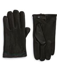 Ted Baker - Roots Leather Driving Gloves - Lyst