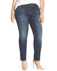 Lucky Brand - 'emma' Stretch Straight Leg Jeans - Lyst