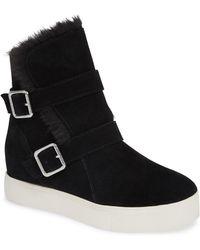 J/Slides - Wells Sneaker Black Suede - Lyst