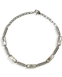 St. John - Swarovski Crystal Collar Necklace - Lyst