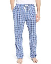 Polo Ralph Lauren - Walker Plaid Cotton & Linen Pajama Pants - Lyst