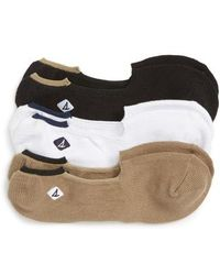 Sperry Top-Sider - Skimmer 3-pack Liner Socks - Lyst