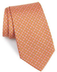 Ferragamo - Estro Print Silk Tie - Lyst
