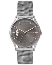 Skagen - Holst Mesh Strap Watch - Lyst