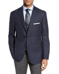 JB Britches | Classic Fit Check Wool Sport Coat | Lyst