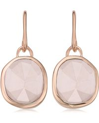 Monica Vinader - Siren Semiprecious Stone Drop Earrings - Lyst