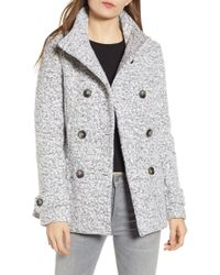 Thread & Supply - Oxford Double Breasted Coat - Lyst