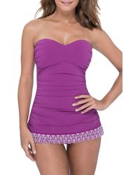 Gottex - Bandeau Swim Dress - Lyst