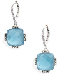 Judith Jack - Doublet Drop Earrings - Lyst