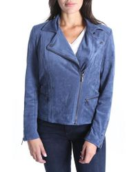 Kut From The Kloth - Faux Suede Eveline Jacket - Lyst