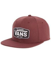 Vans - Westgate Snapback Baseball Cap - Lyst