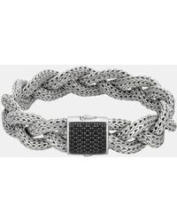 John Hardy | Classic Chain Medium Braided Bracelet | Lyst