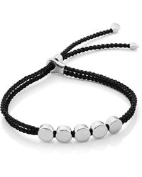 Monica Vinader - Engravable Beaded Friendship Bracelet - Lyst