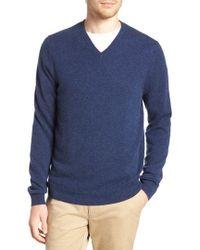 Nordstrom - Cashmere V-neck Sweater - Lyst