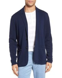 Zachary Prell | Alipinia Notch Collar Cardigan | Lyst