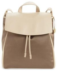Skagen - Ebba Leather & Canvas Backpack - Lyst