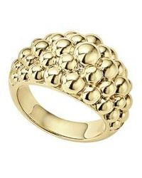 Lagos - Caviar Gold Collection 18k Gold Domed Ring - Lyst