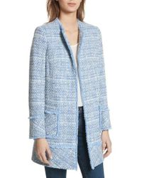 Helene Berman - Long Tweed Jacket - Lyst