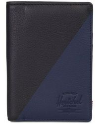 Herschel Supply Co. - Raynor Offset Leather Wallet - - Lyst