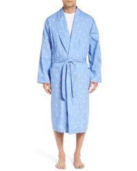 Polo Ralph Lauren - 'polo Player' Cotton Robe - Lyst