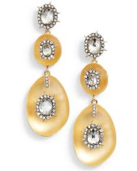 Alexis Bittar - Lucite Charm Drop Earrings - Lyst