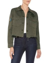 Joe's | Marie Military Shirt Jacket | Lyst
