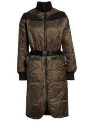 Ivy Park - Bardot Quilted Coat - Lyst